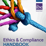 Ethics and compliance handbook cover