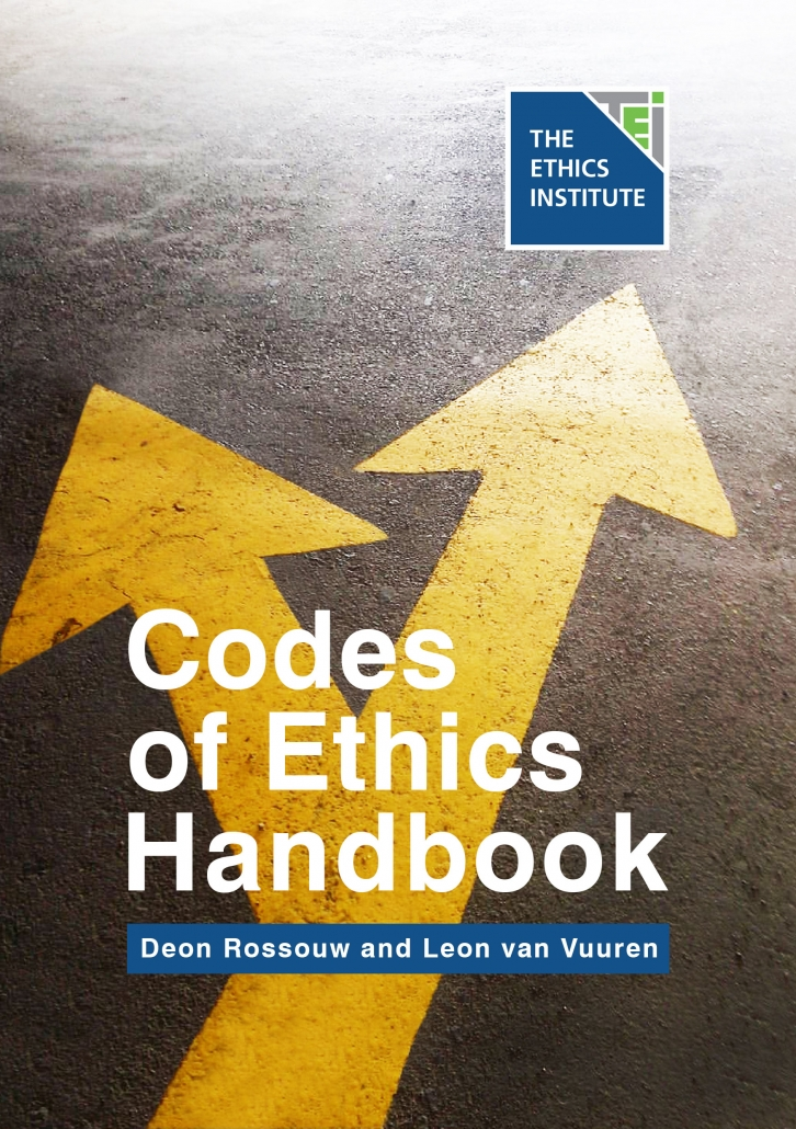LATEST RELEASE Codes of Ethics Handbook The latest offering in our Ethics Handbook Series, the Codes of Ethics Handbook, provides practical guidance to per­sons in governance and management positions who have some form of responsibility for developing or implementing codes of ethics. Click on the image to download your copy or click here to visit our Resources page.